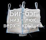 Четырехстропный биг-бэг, модификация: низ – люк, верх – крышка